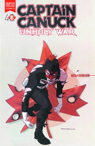 Captain Canuck Unholy War Tp