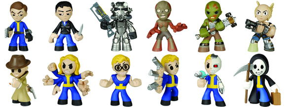 Fallout Mystery Minis 12Pc Bmb Disp