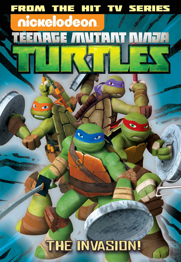 Tmnt Animated Tp Vol 07 The Invasion