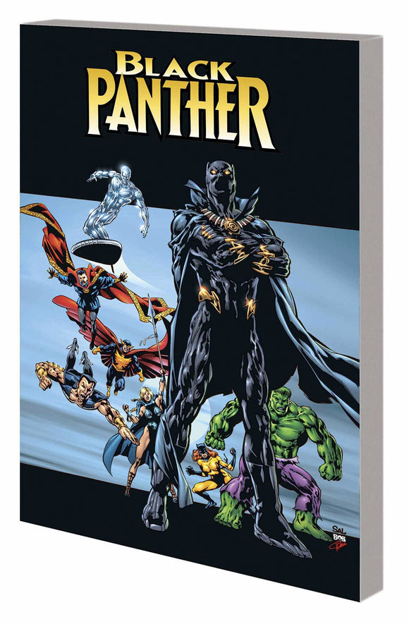 Black Panther By Priest Tp Vol 02 Complete Collection