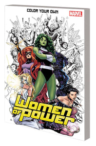 Color Your Own Women Of Power Tp
