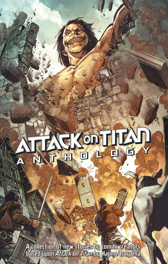 Attack On Titan Anthology Px Ed
