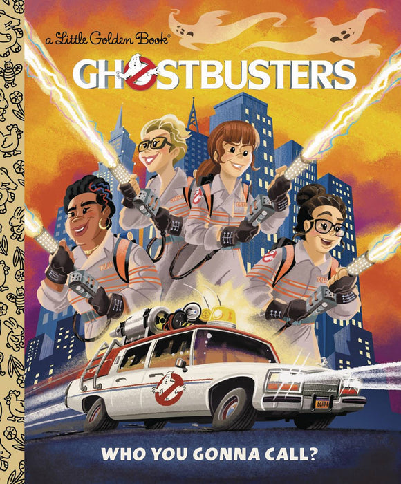 Ghostbusters 2016 Little Golden Book