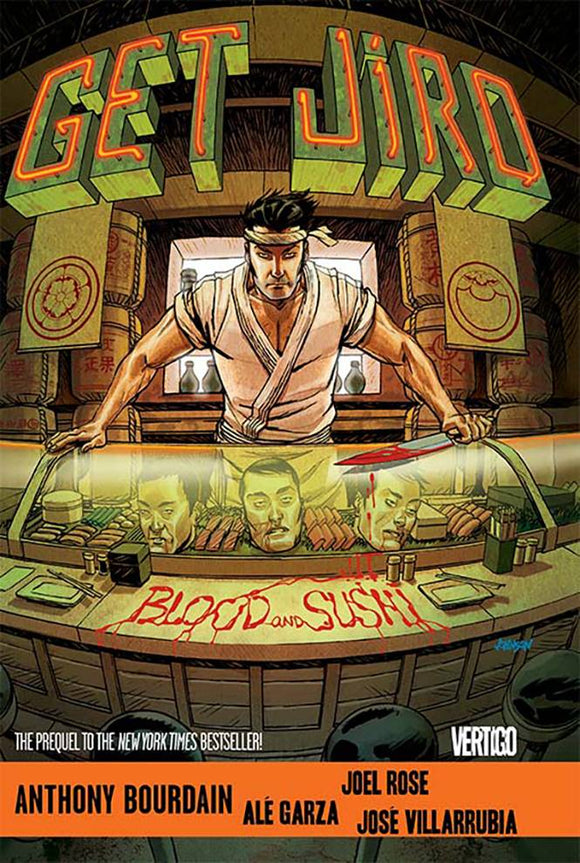 Get Jiro Blood And Sushi Tp