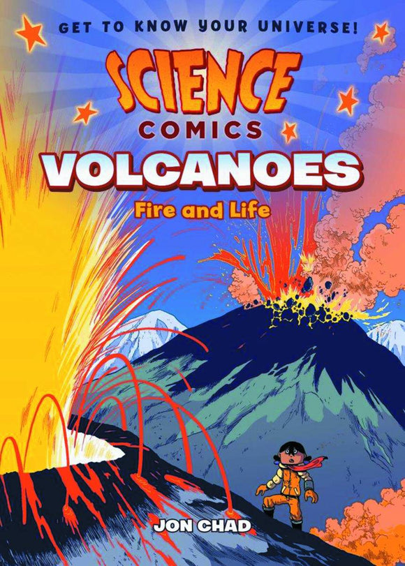 Science Comics Volcanoes Hc Gn