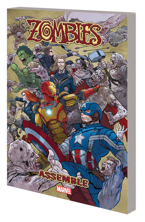 Zombies Assemble Manga Tp Vol 01