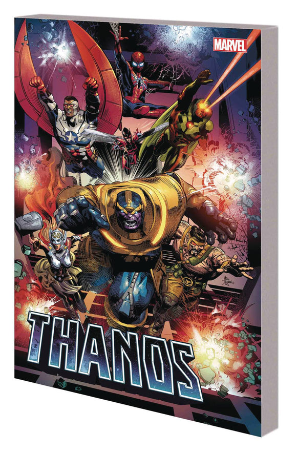 Thanos Tp Vol 02 God Quarry