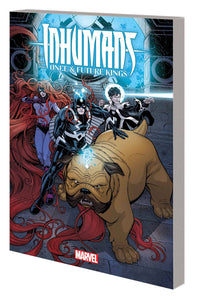 Inhumans Once And Future King Tp