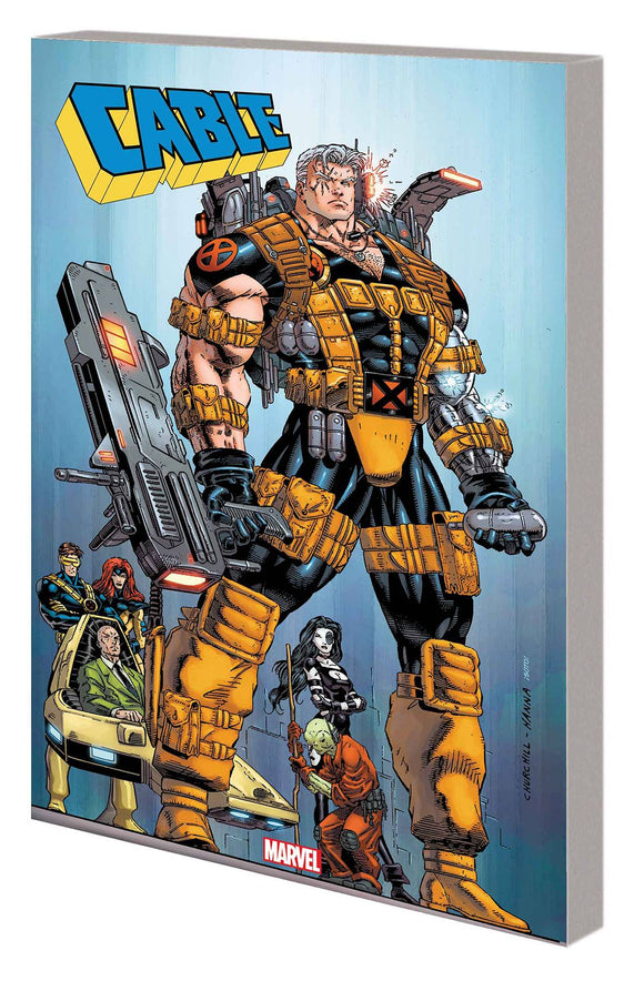 Cable & X-Force Tp Onslaught Rising