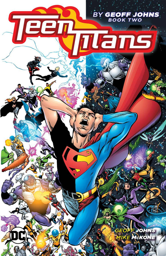 Teen Titans By Geoff Johns Tp Book 02
