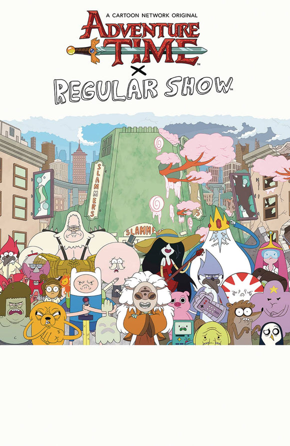 Adventure Time Regular Show Tp