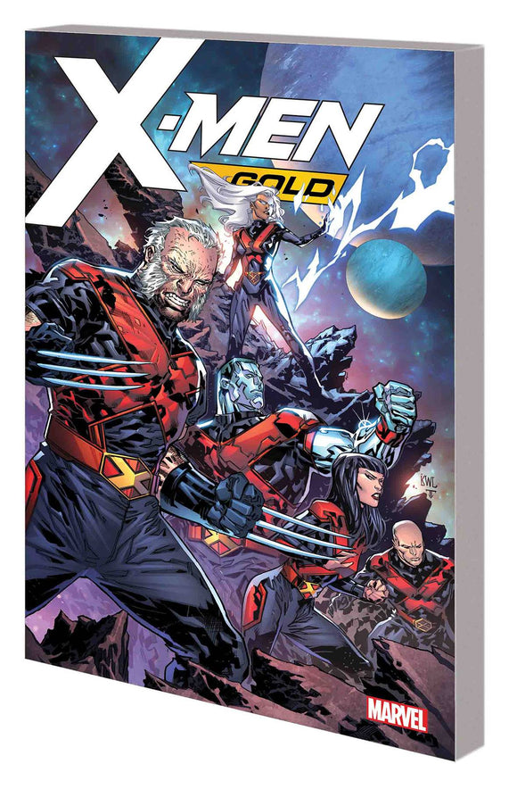 X-Men Gold Tp Vol 04 Negative War Zone