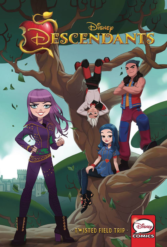 Descendants Gn Vol 01 Twisted Field Trip