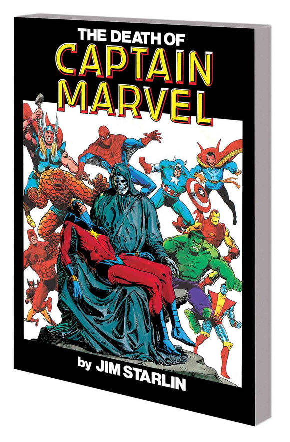 Death Of Captain Marvel Tp New Ptg