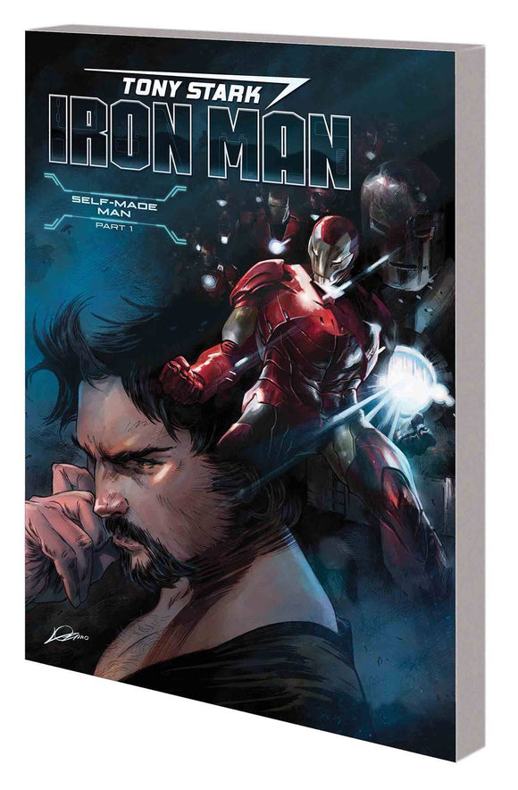 Tony Stark Iron Man Tp Vol 01 Self Made Man