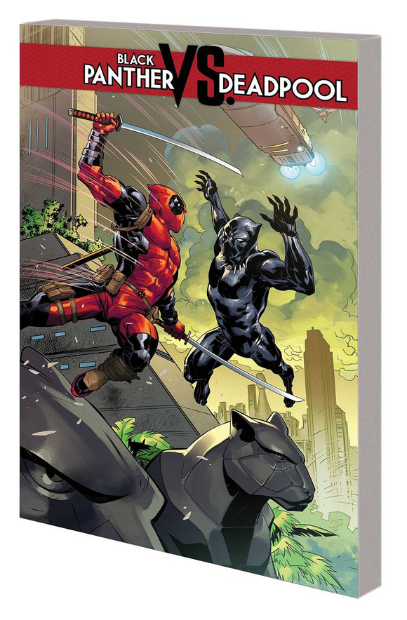 Black Panther Vs Deadpool Tp