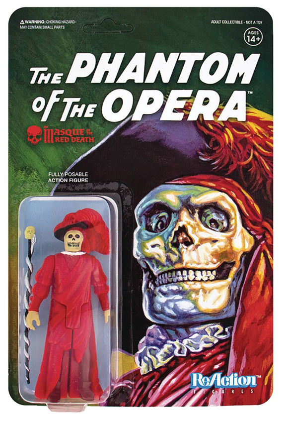 Universal Monsters Masque Of The Red Death Reaction Fig