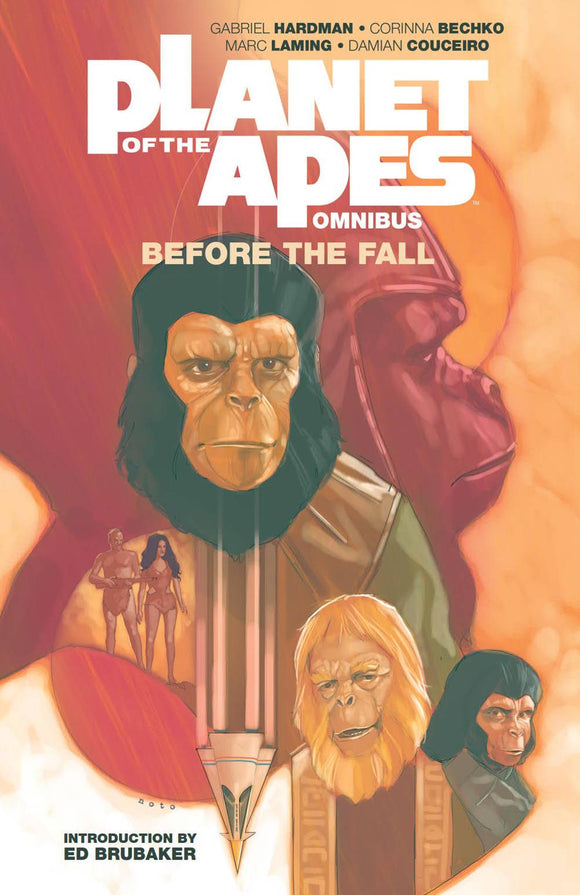 Planet Of Apes Before Fall Omnibus Tp