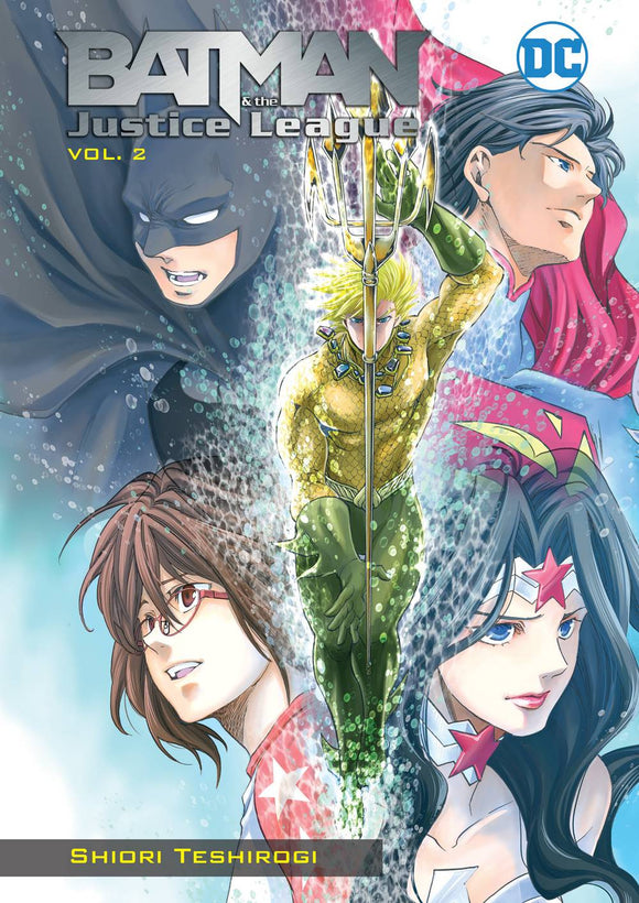 Batman & The Justice League Manga Tp Vol 02