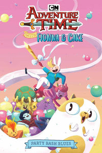 Adventure Time Fionna Cake Original Gn Bash Blues