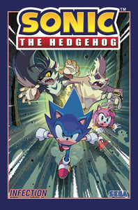 Sonic The Hedgehog Tp Vol 04 Infection