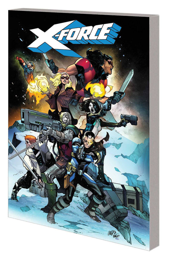 X-Force Tp Vol 01 Sins Of Past