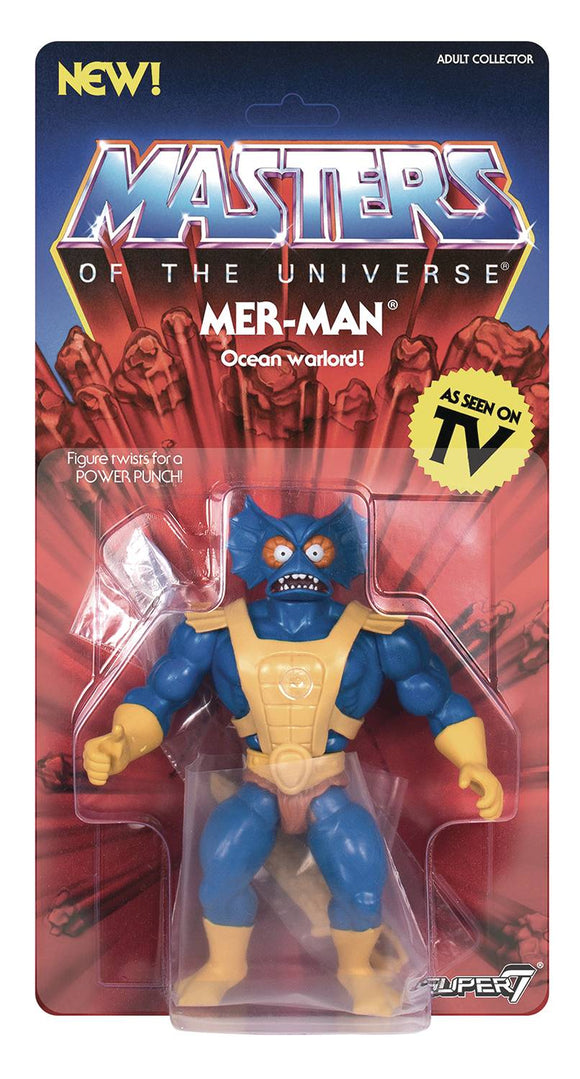 Motu 5.5In Vintage Wave 3 Merman Action Figure