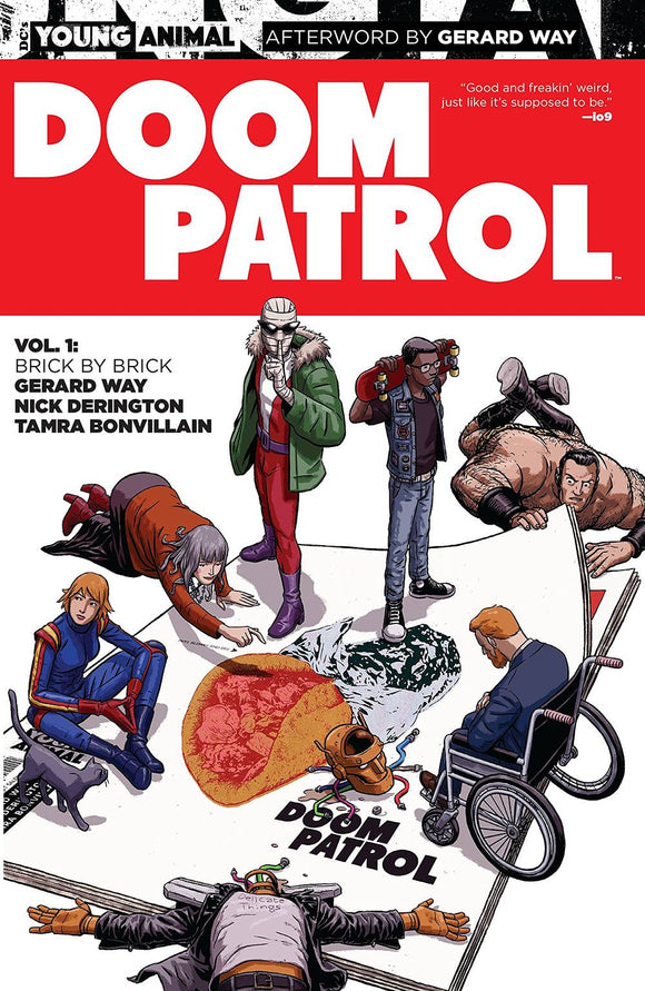 Doom Patrol Tp Vol 01 Brick By Brick