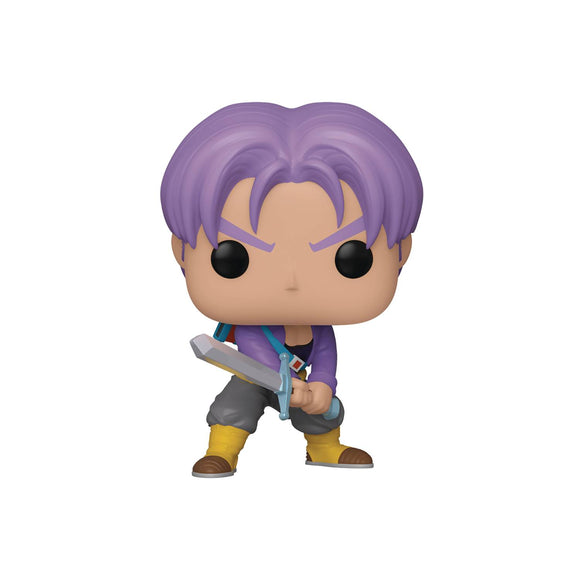 Pop Animation Dbz Trunks Vinyl Figure