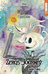 Disney Manga Nightmare Xmas Zeros Journey Tp Vol 03 Mack Ltd Var