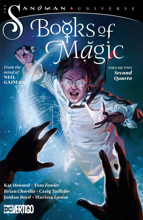 Books Of Magic Tp Vol 02 Second Quarto