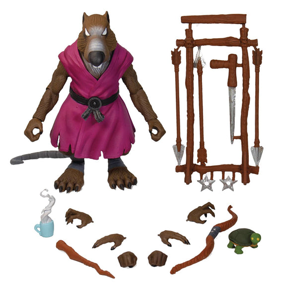 Tmnt Ultimates Wave 1 Splinter Action Figure