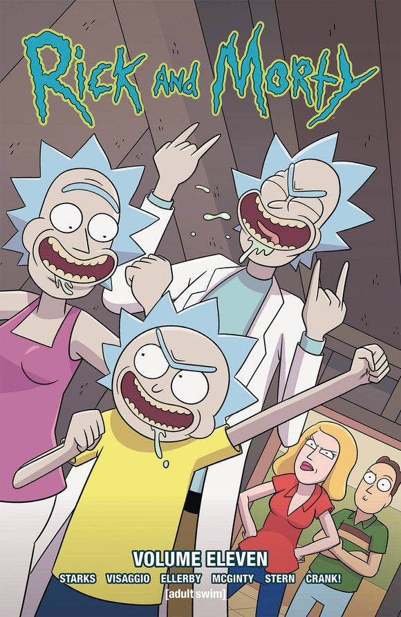 Rick & Morty Tp Vol 11
