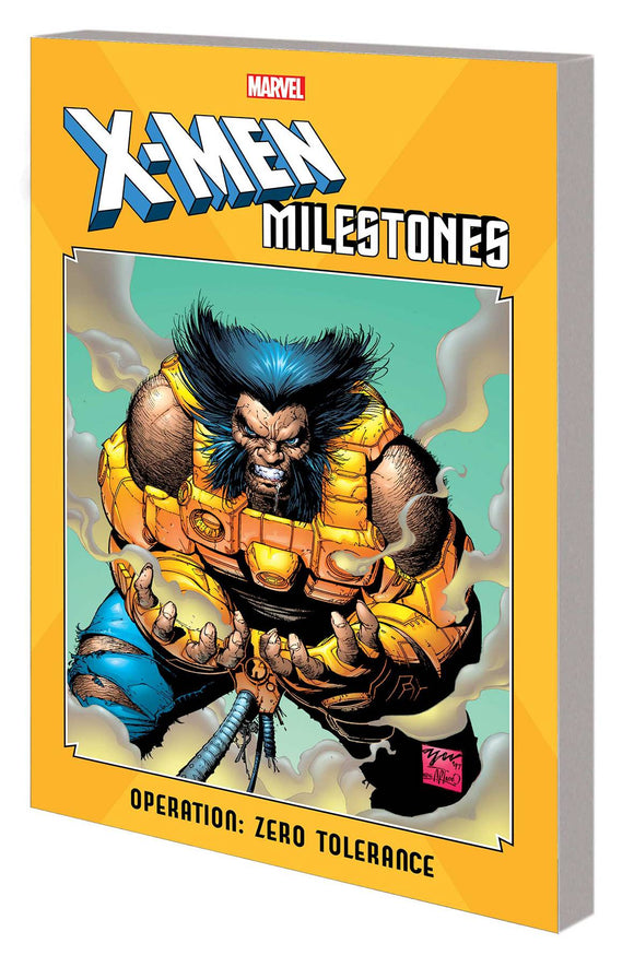 X-Men Milestones Tp Operation Zero Tolerance
