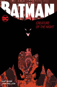 Batman Creature Of The Night Hc