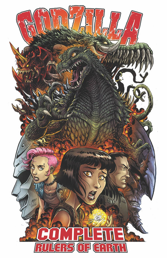Godzilla Comp Rulers Of Earth Tp Vol 01 New Ed