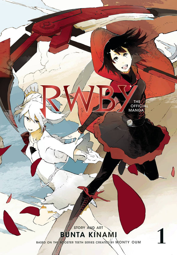Rwby Official Manga Gn Vol 01 Beacon Arc