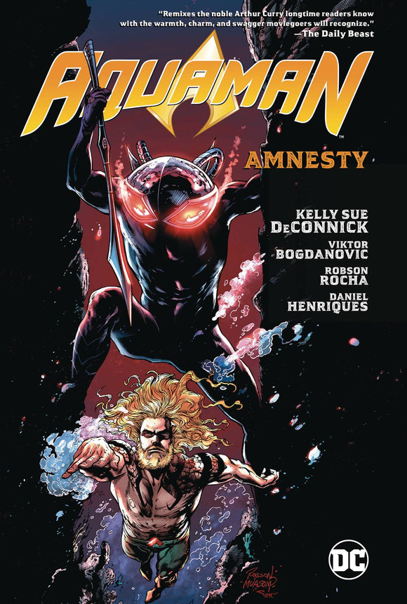 Aquaman Tp Vol 02 Amnesty