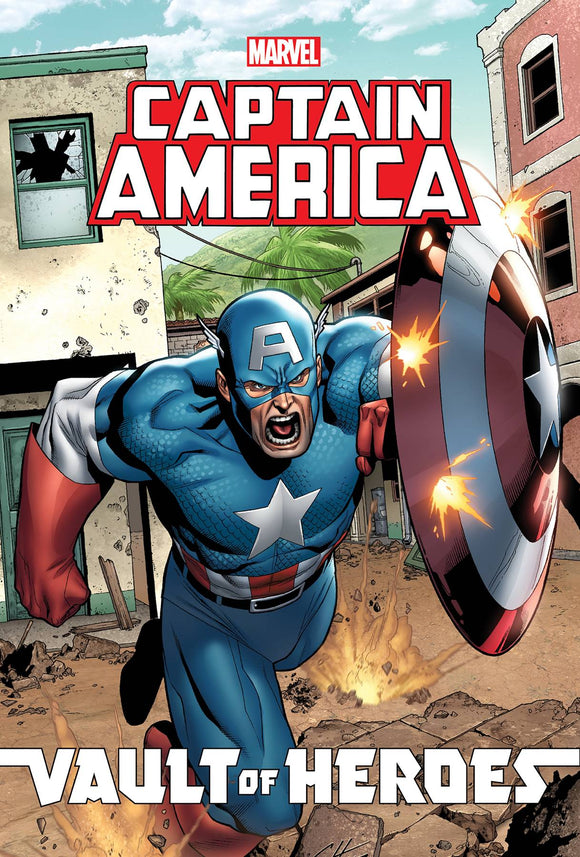 Marvel Vault Of Heroes Captain America Tp