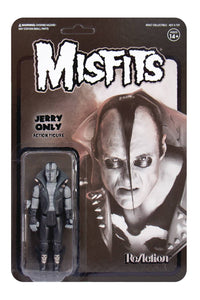 Misfits Jerry Only Black Metal Version Reaction Fig