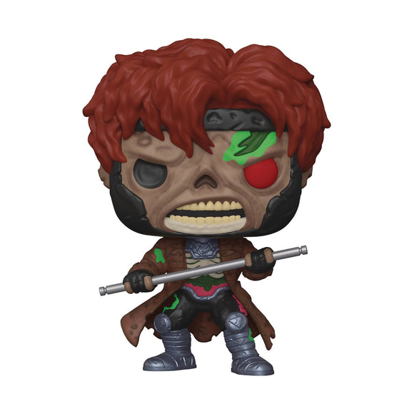 Pop Marvel Zombies Gambit Vin Fig