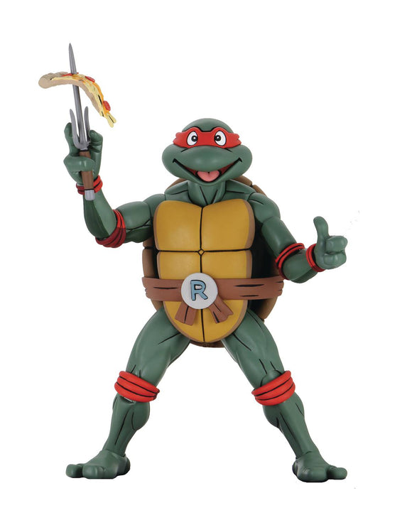 Tmnt Cartoon Super Size Raphael 1/4 Scale Af