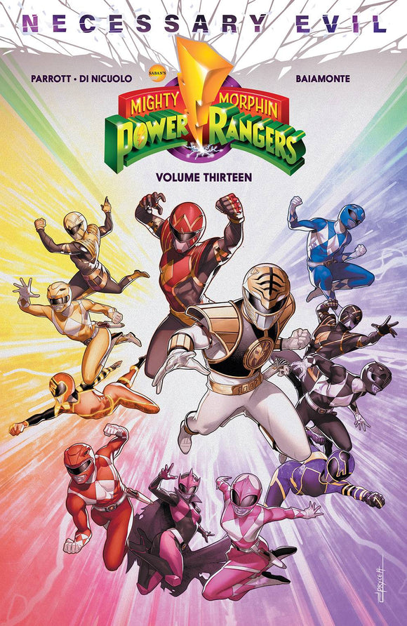 Mighty Morphin Power Rangers Tp Vol 13