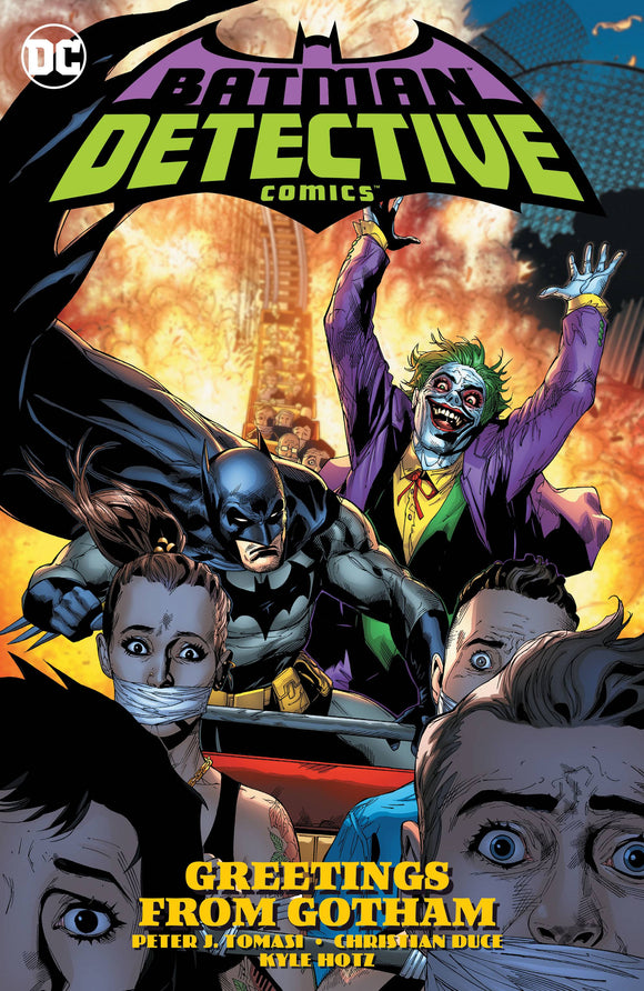 Batman Detective Comics Vol 03 Greetings From Gotham T