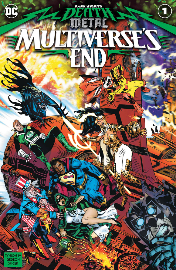 Dark Nights Death Metal Multiverses End #1 One Shot Cv