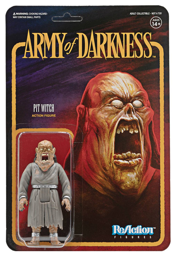 Army Of Darkness Pit Witch Reaction Figure