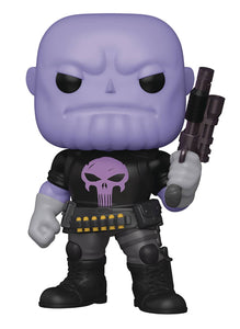 Pop Super Marvel Heroes Thanos Earth-18138 Px 6In Vin Fig