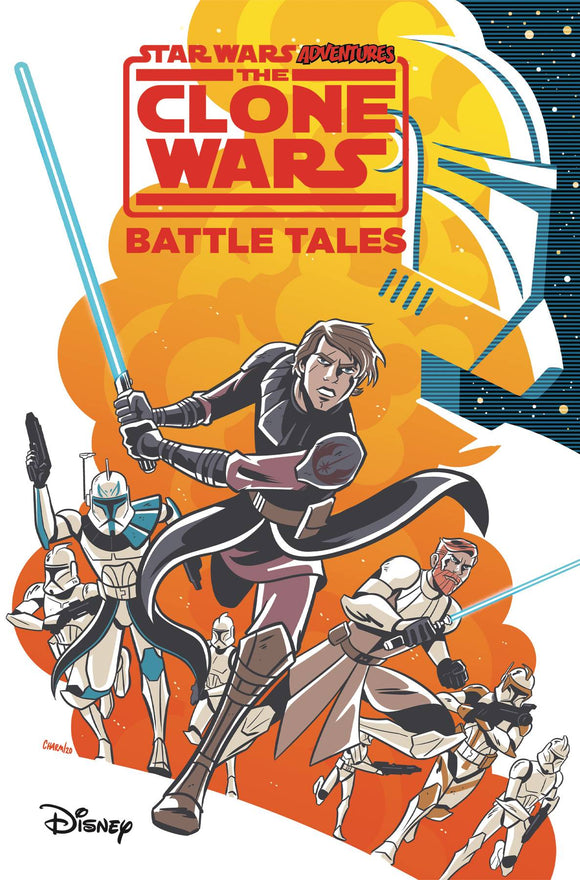 Star Wars Adv Clone Wars Battle Tales Gn
