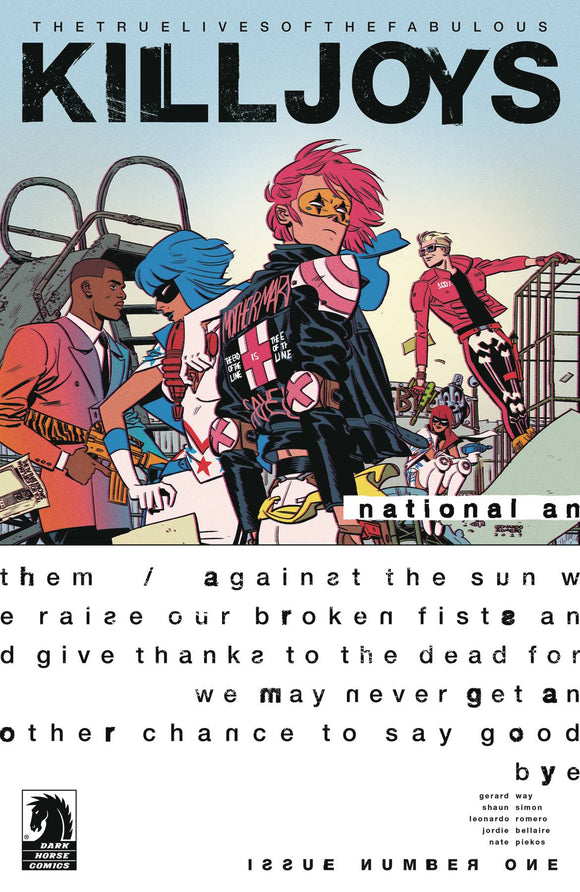 True Lives Fabulous Killjoys National Anthem #1 Cvr A