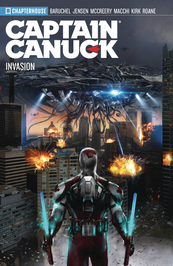 Captain Canuck Tp Vol 04 Season 4 Invasion